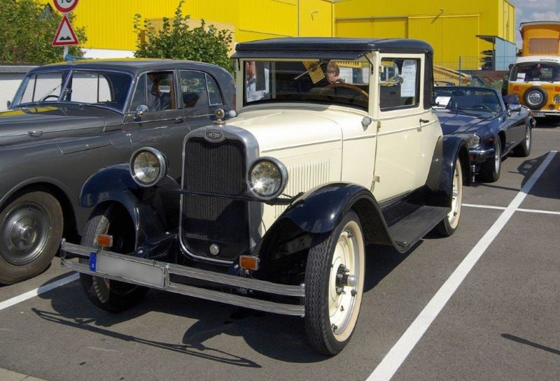1928 Chevrolet National AB Coupe