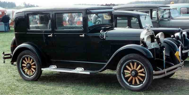 Westrand Car Show - 1928 Essex Super Six 4 Door
