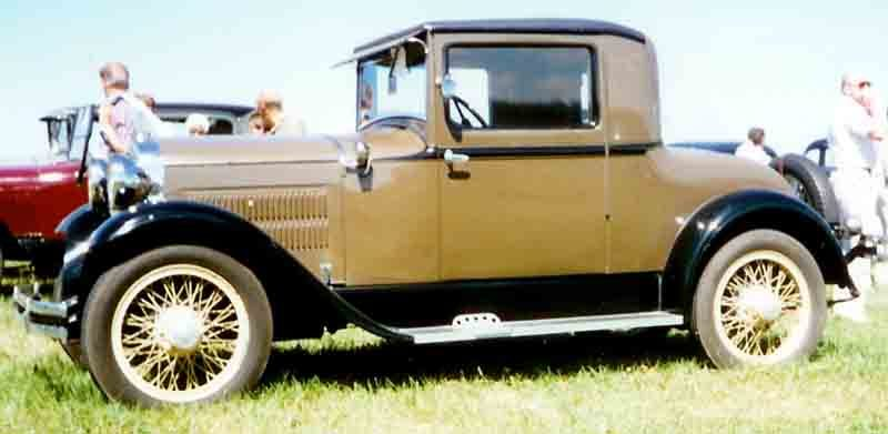 Westrand Car Show - 1929 Essex Super Six Coupe
