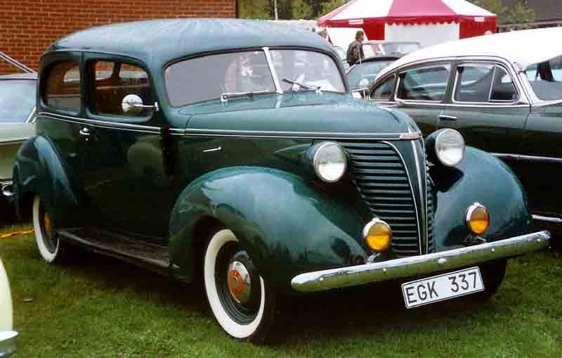 Westrand Car Show - 1938 Hudson 112 Coupe