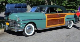 1949 Chrysler New Yorker Town and Country Convertible