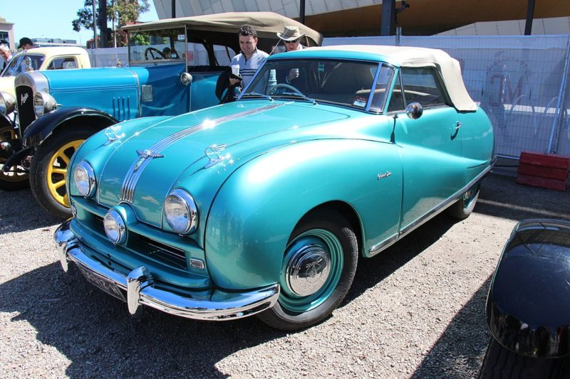 Westrand Car Show - 1950 Austin A90 Atlantic Convertible