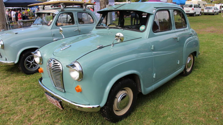 Westrand Car Show - 1953 Austin A30 4 door Saloon