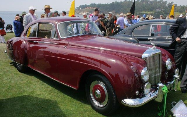 Westrand Car Show - 1954 Bentley R Type Continental HJ Mulliner Sports Saloon