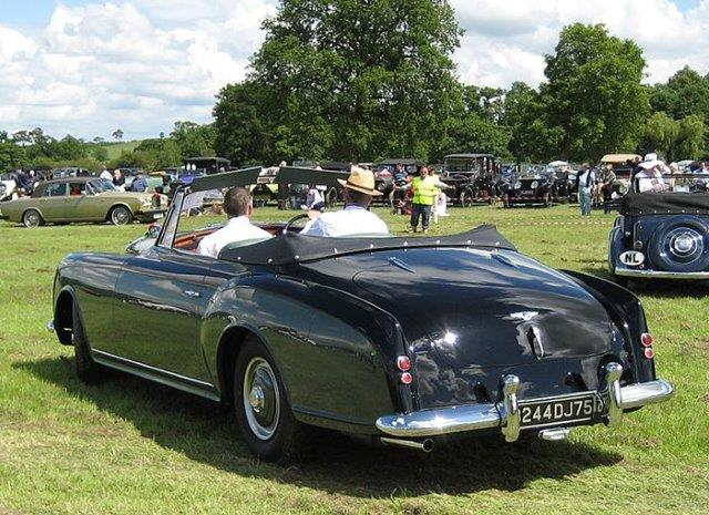 Westrand Car Show - 1954 Bentley R Type Continental drophead coupé by Park Ward