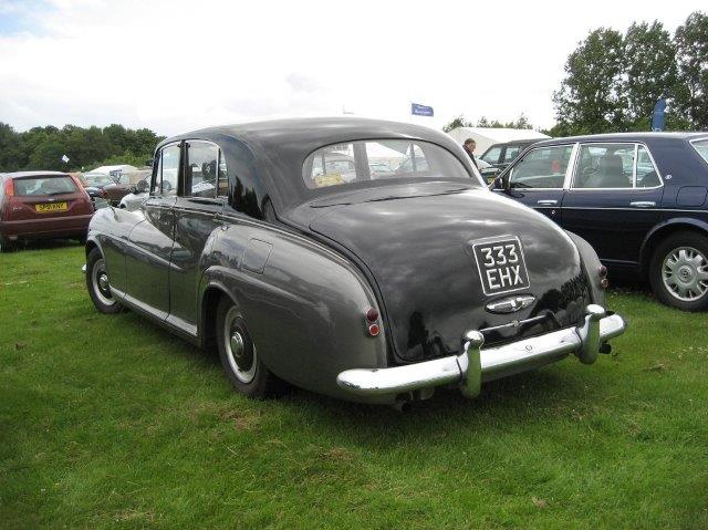 Westrand Car Show -1954 Bentley R Type - James Young Sports Saloon