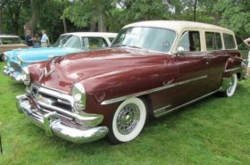 Westrand Car Show - 1954 Chrysler Town and Country