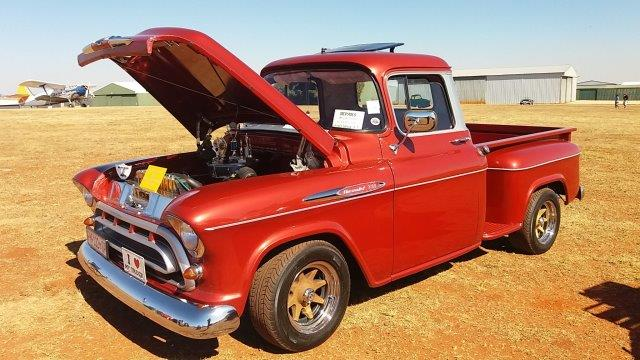 Westrand Car Show - 1957 Chevrolet 3100 Stepside