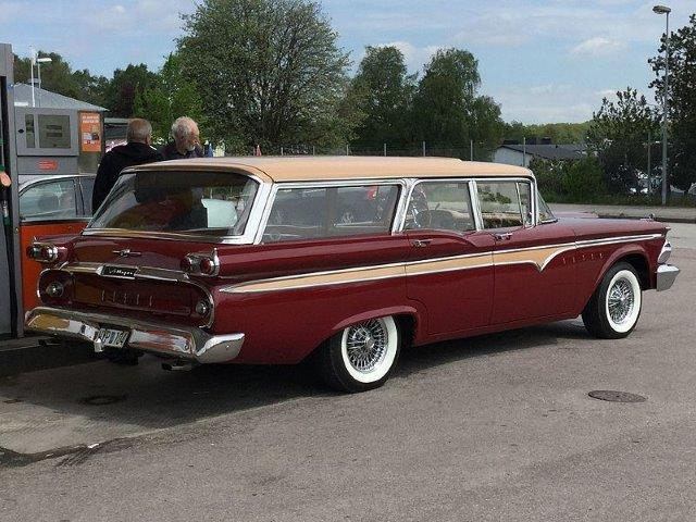 Westrand Car Show - 1959 Edsel Villager