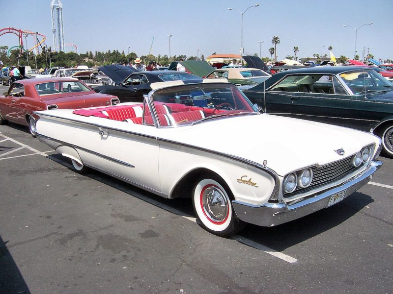 Westrand Car Show - 1960 Ford Galaxie Sunliner
