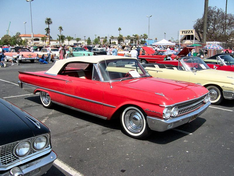 Westrand Car Show - 1961 Ford Galaxie Sunliner