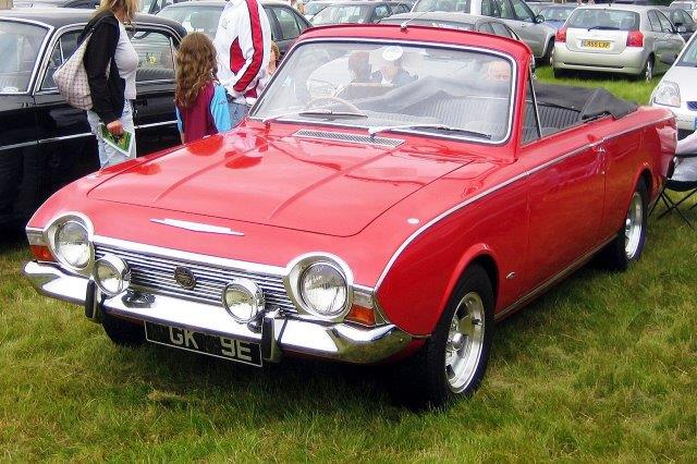 Westrand Car Show -1967 Ford Corsair V4 2 Door Convertible