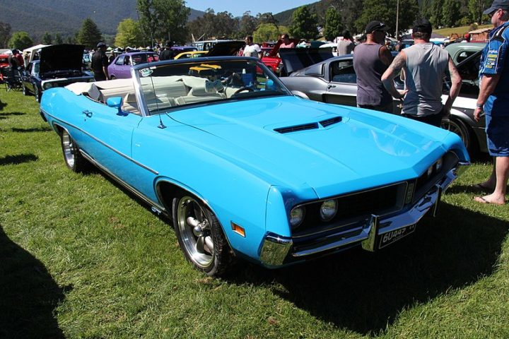 Westrand Car Show - 1971 Ford Torino GT Convertible