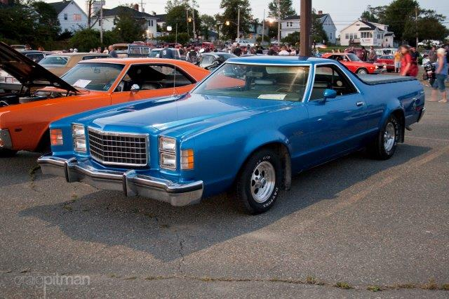 Westrand Car Show - 1977 Ford Ranchero