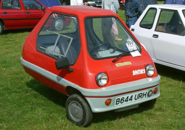 Westrand Car Show - 1984 Bamby MkII Micro Car