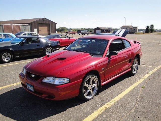 Westrand Car Show - 1995 Ford Mustang GT