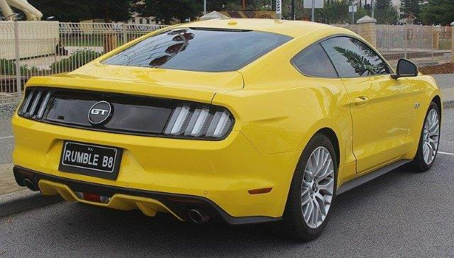 Westrand Car Show - 2014 Ford Mustang GT Coupe