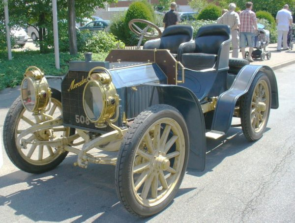 1906 Mercedes Simplex, Westrand Car Show, A car for every year, Vintage, Veteran, Classic