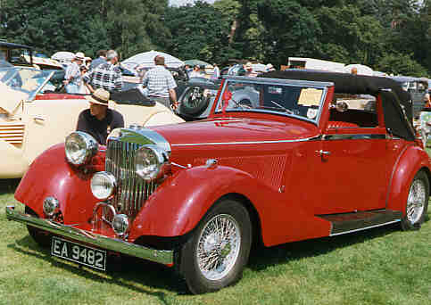 1938 Jensen s-type drophead, WestRand Car Show, Veteran Cars, Vintage Cars, Classic Cars,