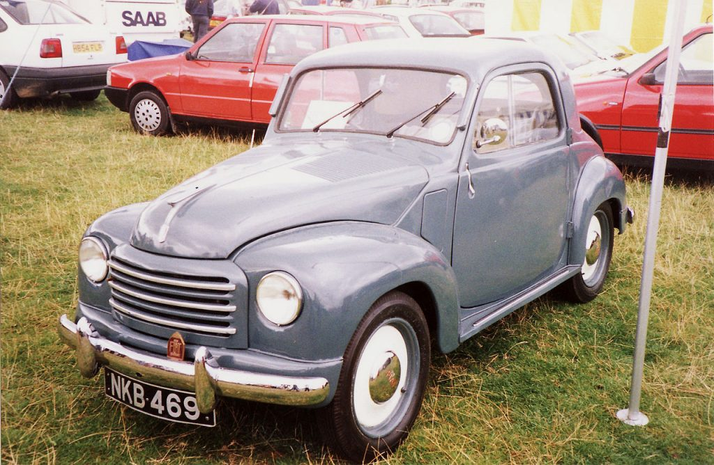 1949 Fiat 500 C Topolino, Westrand Car Show, Unforgettable Journeys