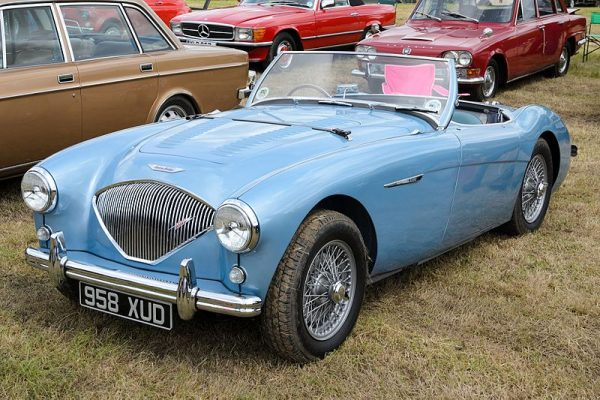 1955 Austin Healey 100, WestRand Car Show, Veteran Cars, Vintage Cars, Classic Cars, Street Customs, SuperLDVs, Hot Rods, Muscle Cars, Motorbikes,