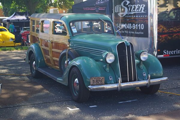 Westrand Car Show 1936 Plymouth Woodie