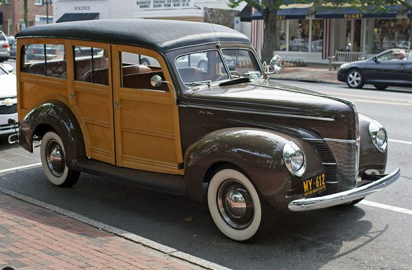 Westrand Car Show 1938 Ford Woodie