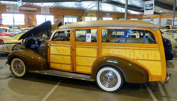 Westrand Car Show 1939 Chevrolet Woodie Station Wagon