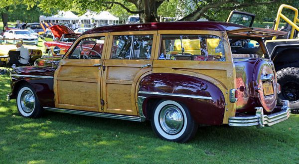 Westrand Car Show 1948 Plymouth Special Deluxe Woodie