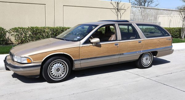 Westrand Car Show 1993 Buick Roadmaster Estate Woodie