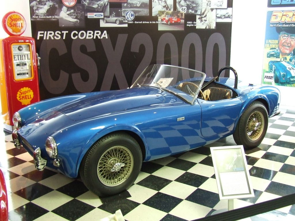 Westrand Car Show - The First AC Cobra