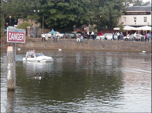 Westrand Car Show - On the River Thames Near Windsor